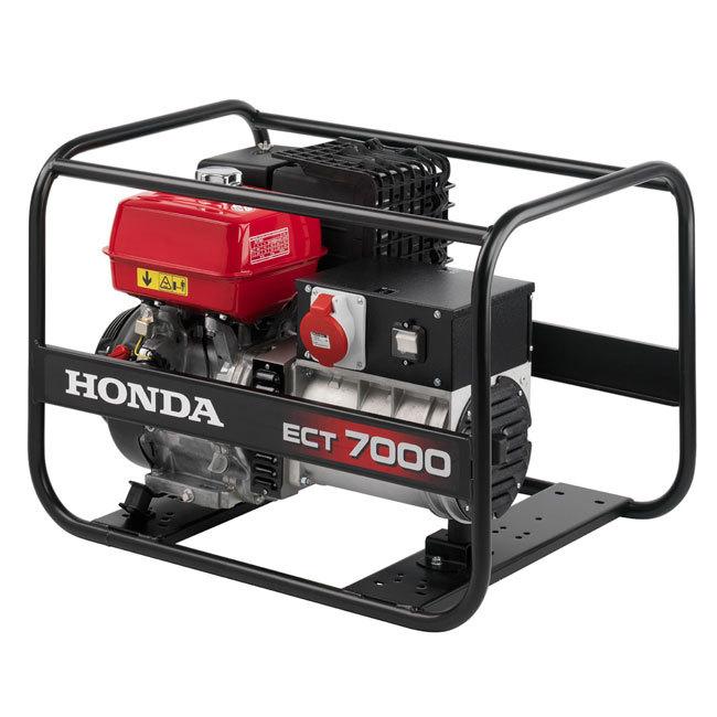 Генератор Honda ECT7000 в Ялтае